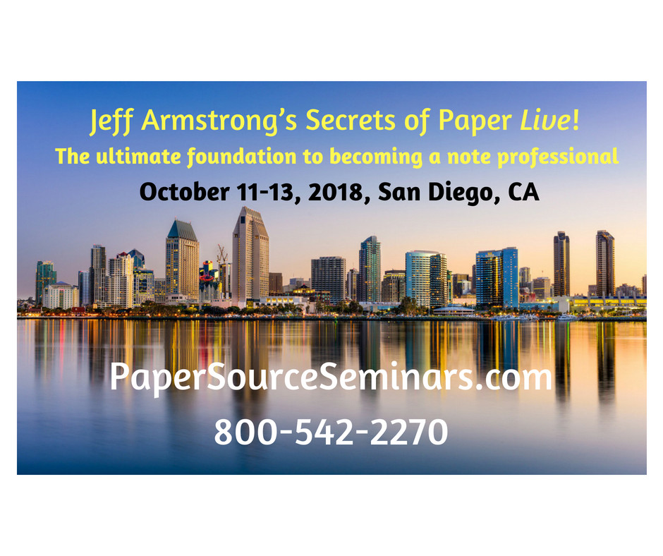 Jeff Armstrong's Secrets of Paper Live!